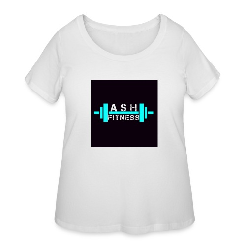 ASH FITNESS ACCESSORIES - Women's Curvy T-Shirt