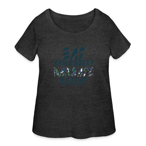 Eat Sleep Narrate Repeat - Women's Curvy T-Shirt