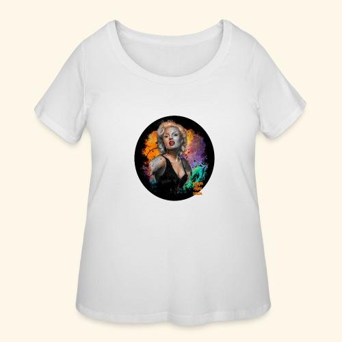 Marilyn Monroe - Women's Curvy T-Shirt
