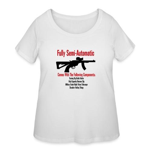 Fully Semi-Automatic - Women's Curvy T-Shirt