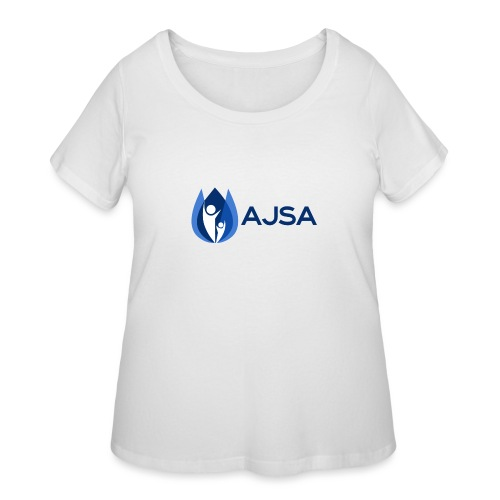 AJSA Bleu - Women's Curvy T-Shirt