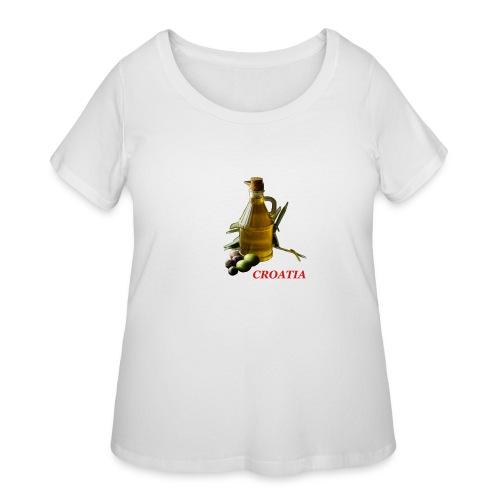 Croatian Gourmet 2 - Women's Curvy T-Shirt