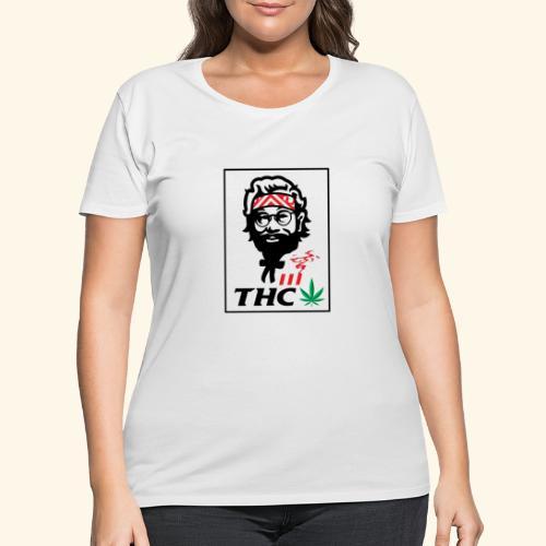THC MEN - THC SHIRT - FUNNY - Women's Curvy T-Shirt