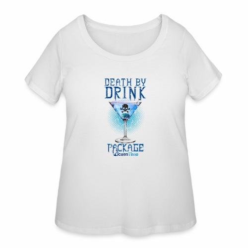 Death by Drink Package - Women's Curvy T-Shirt