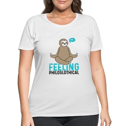 Feeling Philoslothical - Women's Curvy T-Shirt