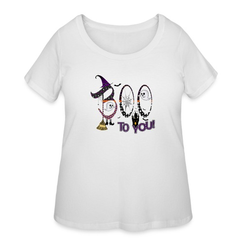 Halloween Boo To You - Women's Curvy T-Shirt