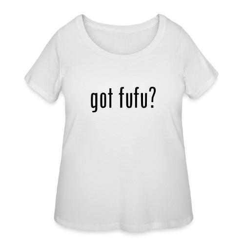 gotfufu-black - Women's Curvy T-Shirt