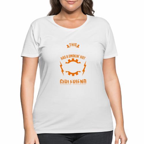 Mechanic girlfriend - Women's Curvy T-Shirt