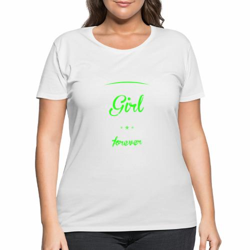 Wife Girl - Women's Curvy T-Shirt