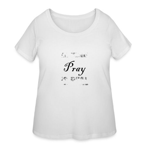 The struggle is real - Women's Curvy T-Shirt