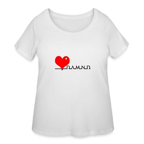 Damnd - Women's Curvy T-Shirt
