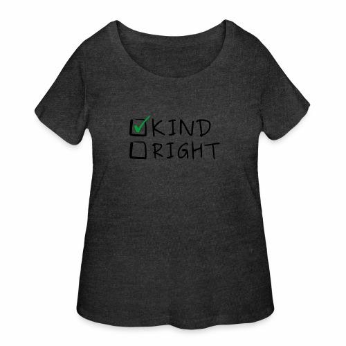 Choose Kind Anti-Bullying - Women's Curvy T-Shirt