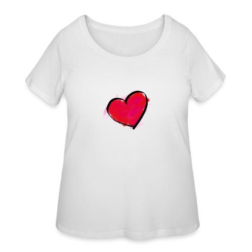 heart 192957 960 720 - Women's Curvy T-Shirt