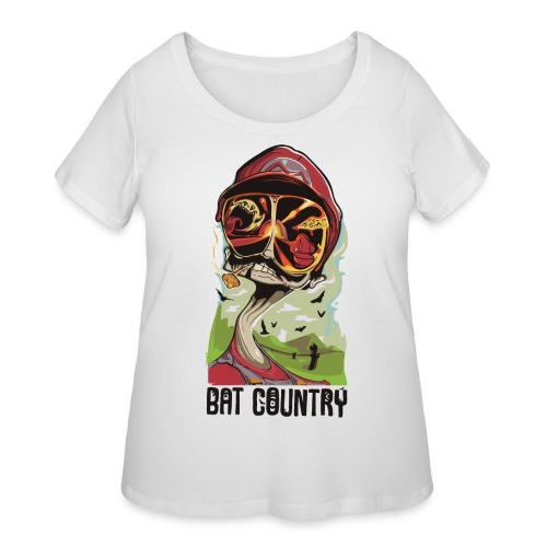 Fear and Mario at Bat Country - Women's Curvy T-Shirt