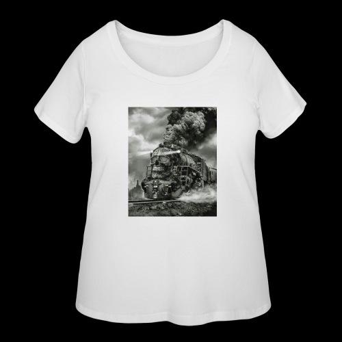 timezone - Women's Curvy T-Shirt