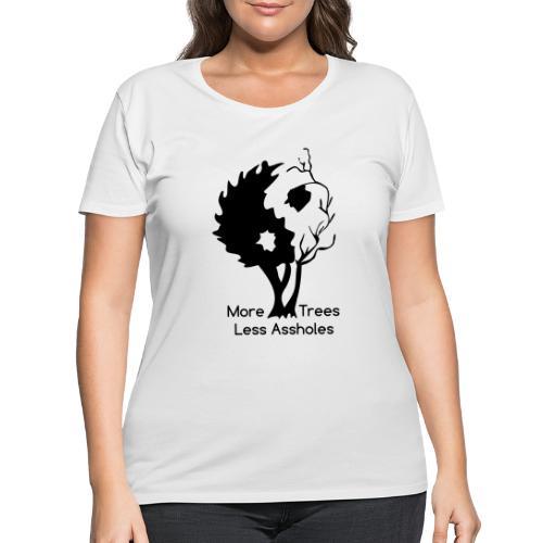 Yin Yang tree MTLA - Women's Curvy T-Shirt