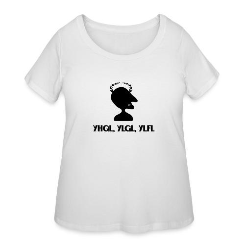Caesar Cipher - Women's Curvy T-Shirt