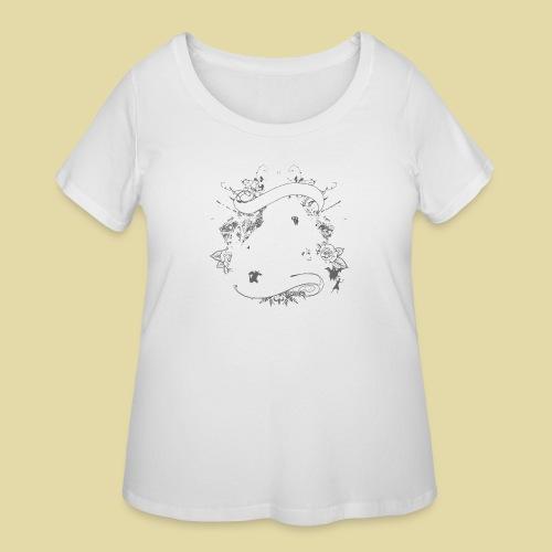 hoh_tshirt_skullhouse - Women's Curvy T-Shirt