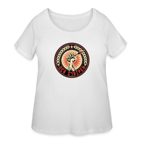 Der Stripen - Women's Curvy T-Shirt