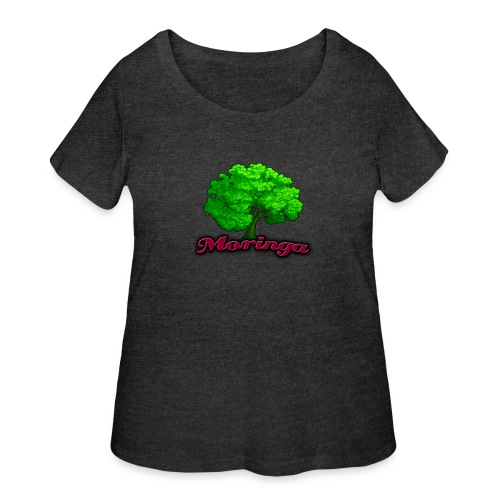Moringa Games Mug - Women's Curvy T-Shirt