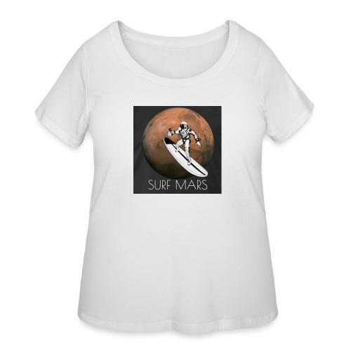 space surfer - Women's Curvy T-Shirt
