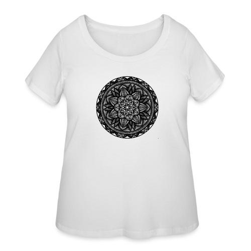 Circle No.2 - Women's Curvy T-Shirt