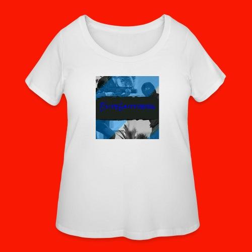 EliteGlitchersRevamp - Women's Curvy T-Shirt