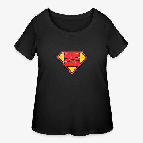 super seat - Women's Curvy T-Shirt