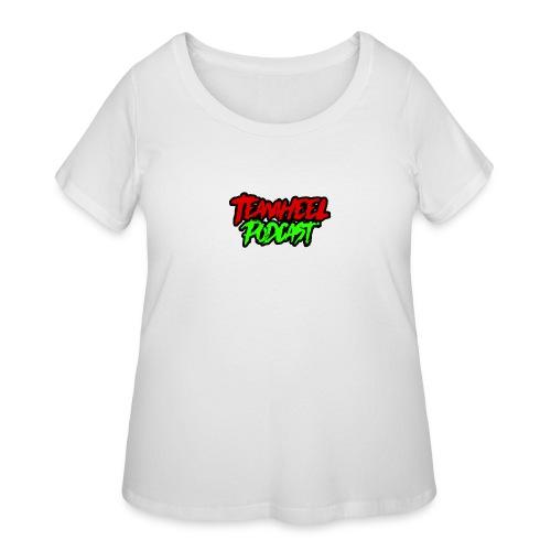 TEAMHEEL Podcast RedNGreen - Women's Curvy T-Shirt