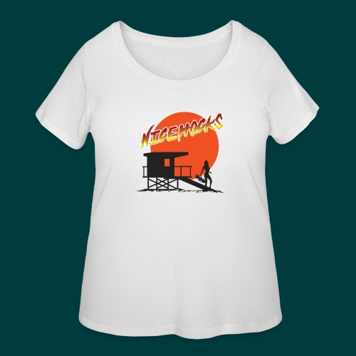 niceHocks - Women's Curvy T-Shirt