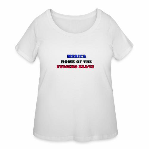 MERICA - Women's Curvy T-Shirt