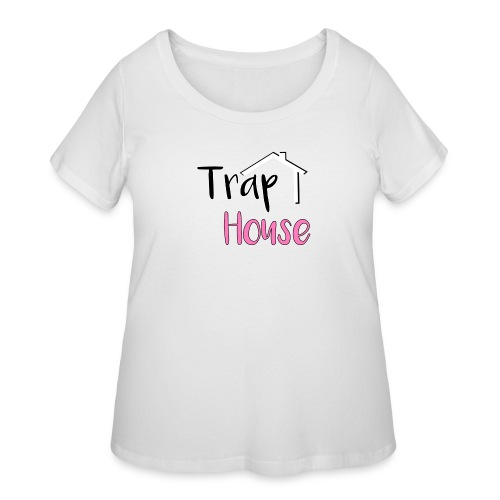 Trap House inspired by 2 Chainz. - Women's Curvy T-Shirt