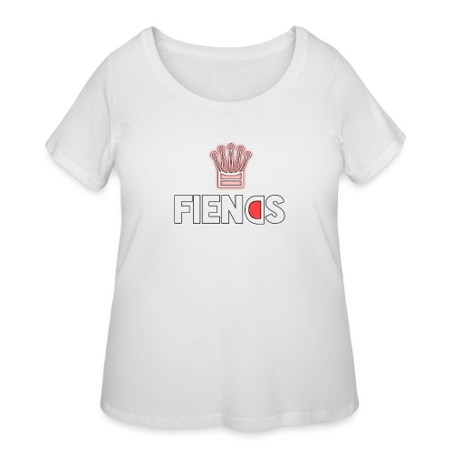 Fiends Design - Women's Curvy T-Shirt