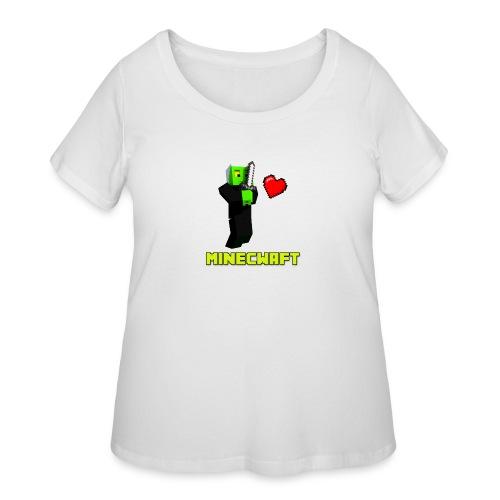 MINECWAFT ZGW - Women's Curvy T-Shirt