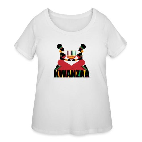 Kwanzaa - Women's Curvy T-Shirt