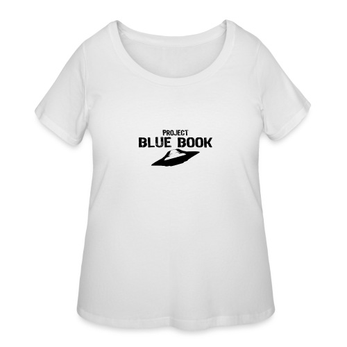 project blue book - Women's Curvy T-Shirt