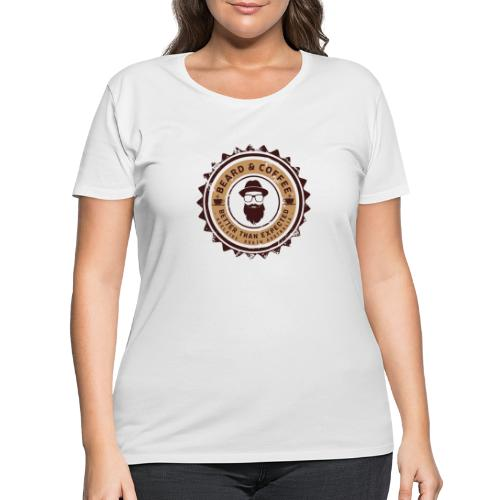 Beard and Coffee Merch - Women's Curvy T-Shirt