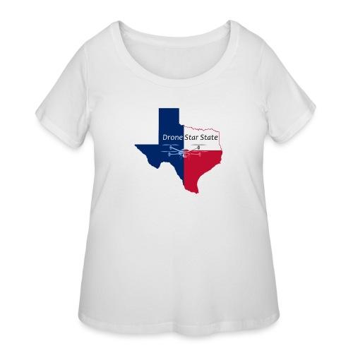 Drone Star State - Women's Curvy T-Shirt
