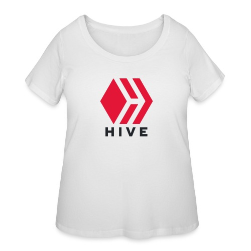 Hive Text - Women's Curvy T-Shirt