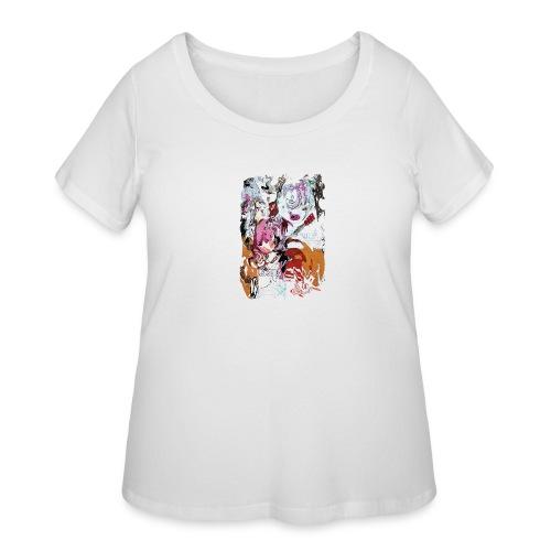 US PSYCH long - Women's Curvy T-Shirt