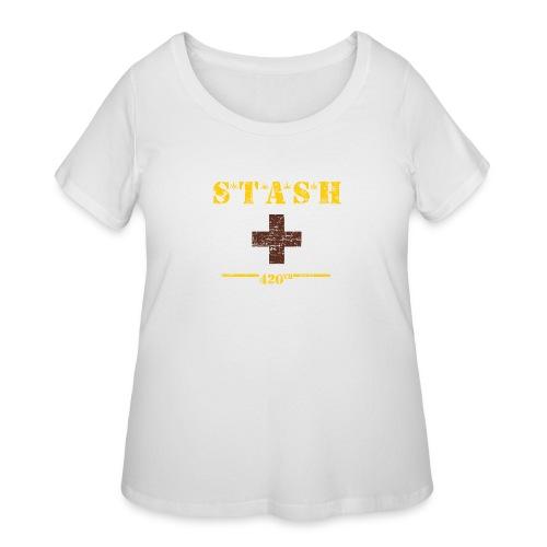 STASH-Final - Women's Curvy T-Shirt