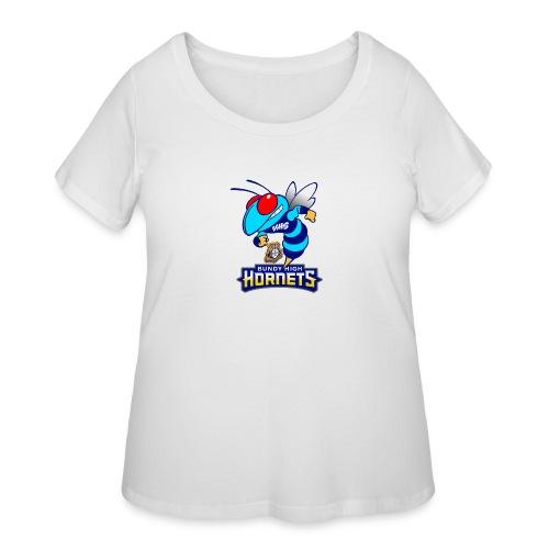 Hornets FINAL - Women's Curvy T-Shirt