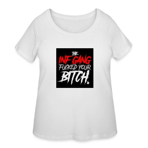 inf_gang_black - Women's Curvy T-Shirt