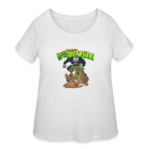 Ant Bully - Women's Curvy T-Shirt