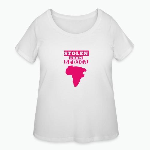 SFA LOGO FUSCHIA - Women's Curvy T-Shirt