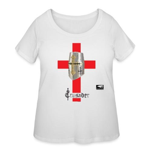 crusader_red - Women's Curvy T-Shirt