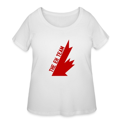 The Eh Team Red - Women's Curvy T-Shirt