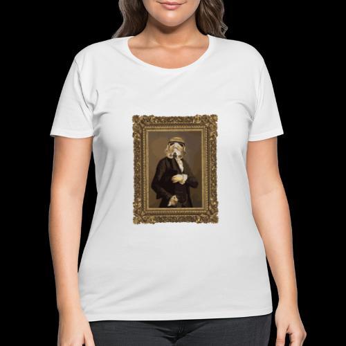 Vintage Trooper | Style Wars - Women's Curvy T-Shirt
