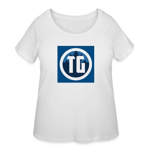 Typical gamer - Women's Curvy T-Shirt