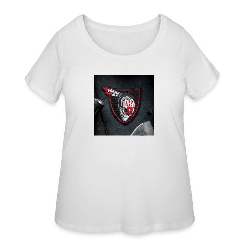 SavageRedHand - Women's Curvy T-Shirt